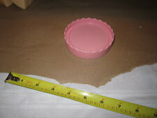 Fisher Price Fun with Food Birthday Create a Cake Pink Plate Wedding Tier Piece