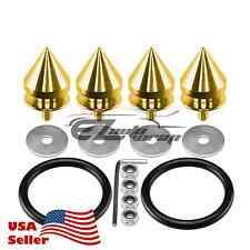 Gold Spike Quick Release Fasteners For Car Bumpers Trunk Fender Hatch Lids Kit