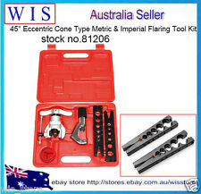 45° Eccentric Cone Type Flaring Tool,Tube Flaring Tool Kit Refrigeration Copper