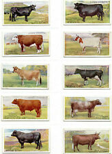 More details for player's british live stock set of 25 good condition - catalogue £65 in sleeves