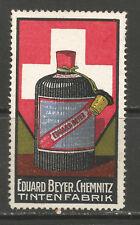 Germany/Chemnitz E. Beyer Ink Factory advertising stamp (B)