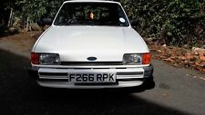 Ford Fiesta Popular Plus 1.1ltr  MK2 White  Classic Car - 2 owners from new.