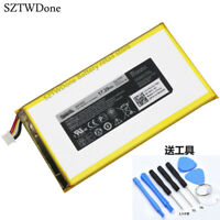For 7 3740 8 3840 P708 0YMXOW Tablet Battery