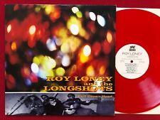 ROY LONEY & THE LONGSHOTS ~ FULL GROWN HEAD ~ RED VINYL LP 1994 RARE ROCK CANADA