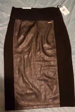 CALVIN KLEIN 'Power Stretch' Skirt Size: XS NEW WITH TAGS RRP $60