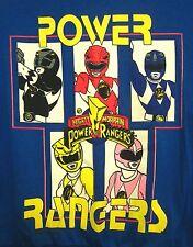MIGHTY MORPHIN POWER RANGERS youth med sweatshirt 10-12 beat-up crewneck 1994