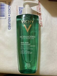 Vichy Normaderm Daily Gel Cleanser Salicylic Acid 6.7oz Phytoaction Deep Clean
