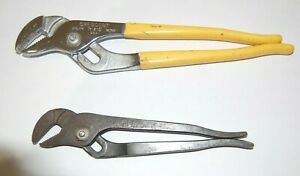 2 VINTAGE NICE OLD CRESCENT R-210, XCELITE  53 pliers TOOL quality USA
