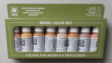 17ml Bottle Face & Skin Tones Model Color VALLEJO HOBBY PAINT MODELING SET