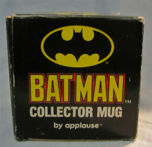 BATMAN, COFFEE MUG w/box, Applause Inc. copyright 1964 (manufactured 1980's)