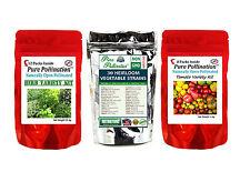 48 Heirloom Non-GMO Vegetable Fruit Tomato Herb Seed Variety Packs Garden Lot