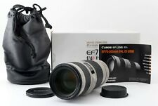 Canon EF 70-200mm F/4 L F/4.0 IS USM w/Original Box From Japan[Exc #416A 623