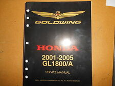 2001-2005 Honda Goldwing GL1800/A GL 1800 Service Manual