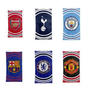 Football Pulse Towel - Barcelona, Chelsea, Arsenal Kids Boys Gift Towel