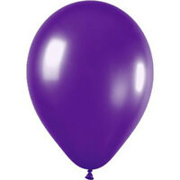 10 x 12 inch Purple Wedding Balloons S6H5