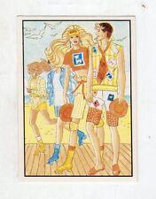 figurina - BARBIE 1989 PANINI - NUMERO 123