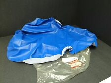 NOS New Suzuki Dirt Bike Quad ATV Blue Replacement Seat Cover 99950-62010