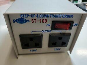 Philmore ST-100 100 watt 110/220 Step Up / Down Transformer