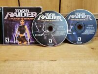 Video Game PC Tomb Raider the Angel of Darkness Laura Croft Jewel Case