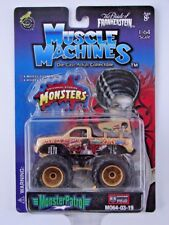 MUSCLE MACHINES Monster Patrol Bride Of Frankenstein Monster Truck NEW MOC 1:64
