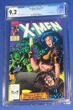 Uncanny X-Men #267 Comic Book CGC 9.2 1990 Early Gambit Appearance Jim Lee Art