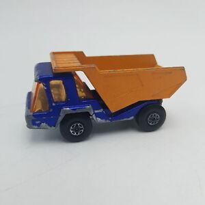 Vintage Matchbox Superfast Atlas Dump Truck No.23 (1975) Play Worn