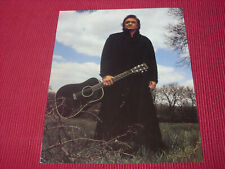 "Johnny Cash: 1994 American Recordings   10"" X 8"" Promotional Photo Card"