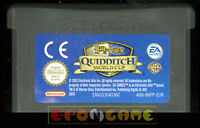HARRY POTTER QUIDDITCH WORLD CUP Game Boy Advance ••••• SOLO CARTUCCIA