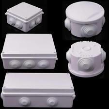 IP55/IP65 Plastic Waterproof Enclosure Case Power Junction Round Box