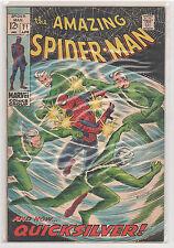 Amazing Spiderman #71 Stan Lee John Romita Sr. Quicksilver 8.0