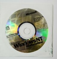 OEM Windows NT Workstation 4.0 1-2 (dual) Processor Sealed