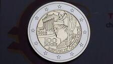 2 euro 2018 AUSTRIA 100 Repubblica AUTRICHE Österreich Oostenrijk Австрия 奥地利