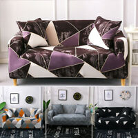 New Home Decor Sofa Slipcovers Couch Cover 1-4 Seater Elastic Stretch Polyester