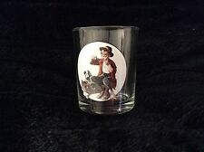 Norman Rockwell Bedside Manner Glass