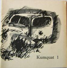 Russell Banks / Kumquat 1 First Edition 1967