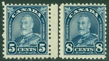 EDW1949SELL : CANADA 1930-31 Scott #170-71 Mint Never Hinged. PO Fresh. Cat $67