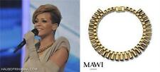 MAWI Gold Tone Necklace -BOXED - As Rihanna & Olivia rrp495GBP Perfect gift