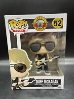 Funko POP! DUFF McKAGAN Rocks Guns N Roses #52 Vinyl Figure W/ Pop Protector