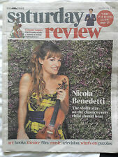 TIMES SATURDAY REVIEW 2014 NICOLA BENEDETTI PHOTO COVER INTERVIEW Parquet Courts