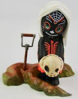 Mezco Toys Living Dead Dolls Calavera 2in Figurine Black 2/36