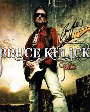 Bruce Kulick signed 8x10 BK3 photo / autograph