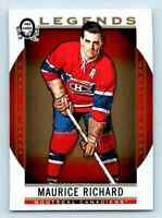 2018-19 O-Pee-Chee Coast To Coast Maurice Richard . #201
