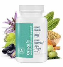 Curalin Advance Glucose Support Promotes Energy Metabolism 180 Capsules