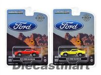 GREENLIGHT 1:64 HOBBY EXCLUSIVE 1973 FORD FALCON XB RED PEPPER / YELLOW DIECAST