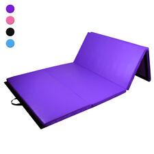 Tapis de gymnastique pliable Matelas de sol épais Fitness & Gym 240 x 120 x 5 cm