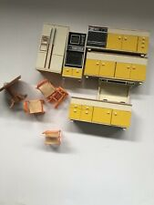 Vintage Lot Of Miniature Dollhouse Furniture Tomy And More