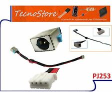 CONNETTORE DI ALIMENTAZIONE DC POWER JACK NOTEBOOK Packard Bell p5ws6