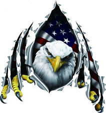 Eagle Hawk Car Truck Auto Decal Vinyl Sticker Hood Door Decals Flying Reflective