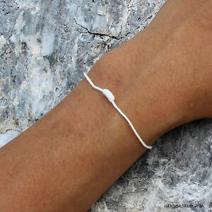 Blessed Sai Sin Friendship Bracelet String Protection Health Cord Ceremony Gift