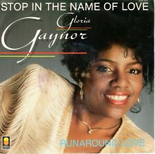 7inch GLORIA GAYNOR stop in the name of love FRANCE 1983 EX  (S1500)